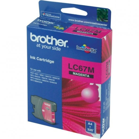 BROTHER LC67-M RENKLİ KARTUŞ(795/5890/6490)325 SYF